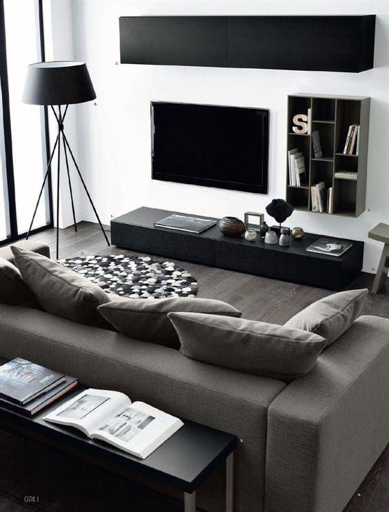 Living Room Ideas Black Inspirational 48 Black and White Living Room Ideas Decoholic