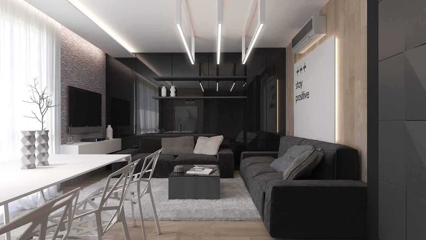Living Room Ideas Black Inspirational Black Living Rooms Ideas & Inspiration