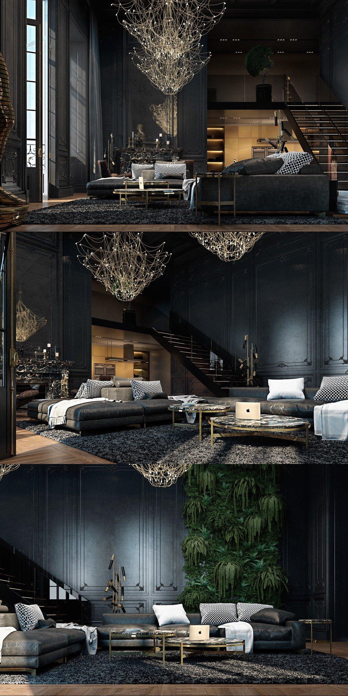 Living Room Ideas Black Luxury Black Living Rooms Ideas & Inspiration