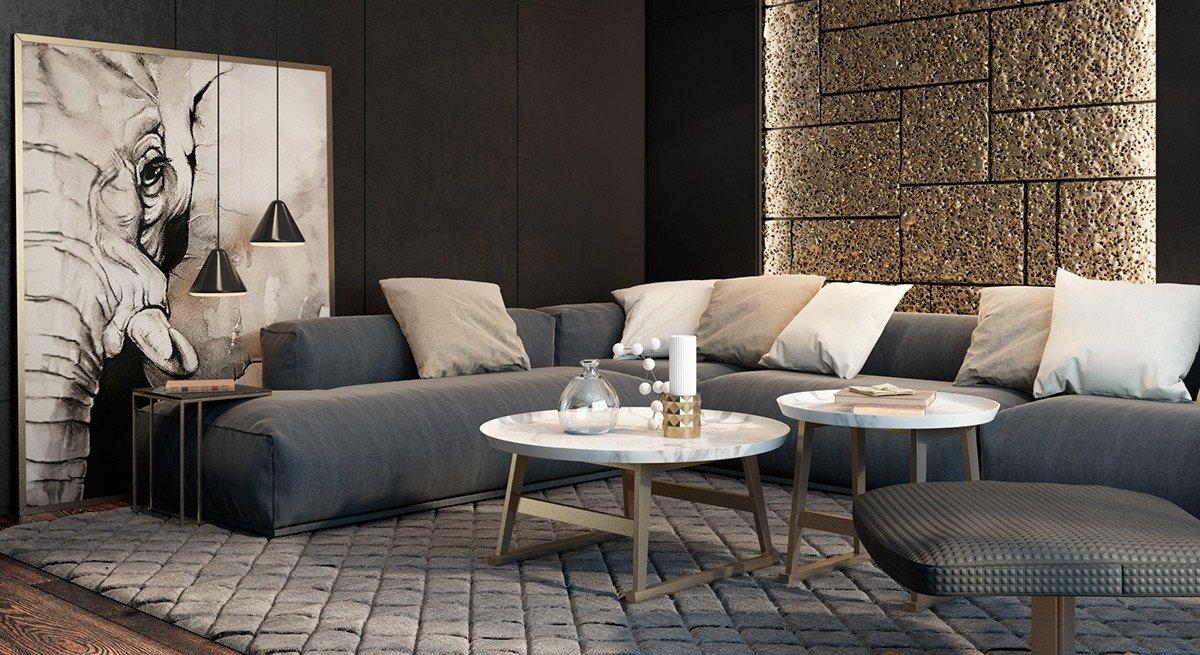 Living Room Ideas Black Unique Black Living Rooms Ideas & Inspiration