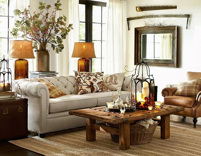 Living Room Ideas Pottery Barn Fresh 28 Elegant and Cozy Interior Designs by Pottery Barn