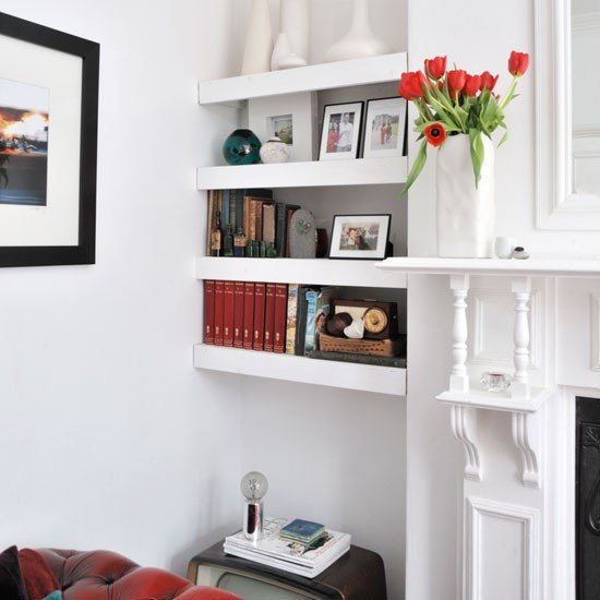 Living Room Ideas Shelves Luxury Alcove Floating Shelves Shelving Ideas
