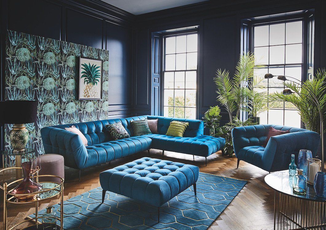 Living Room Ideas Teal Elegant Glam Gold and Teal Living Room Ideas Featured Image