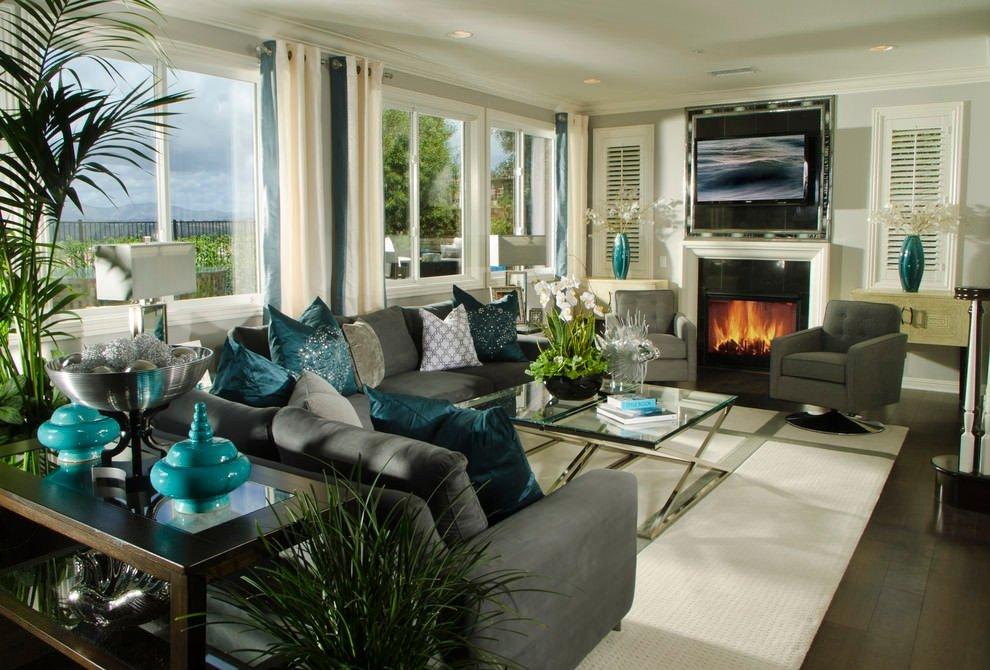 Living Room Ideas Teal Unique 22 Teal Living Room Designs Decorating Ideas