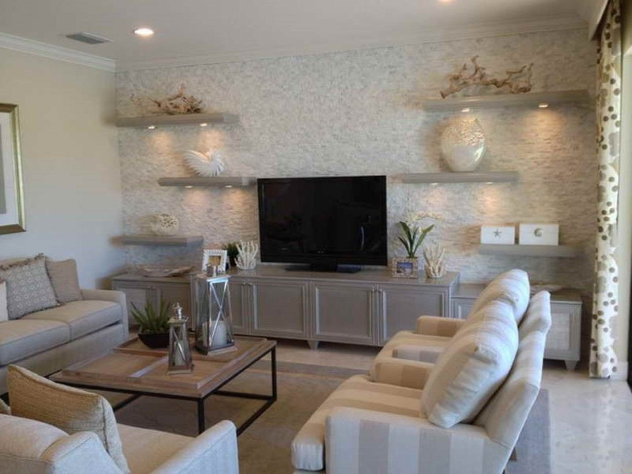 Living Room Ideas Tv Stand Best Of Modern Floating Shelves and Tv Stand On Nautical Living