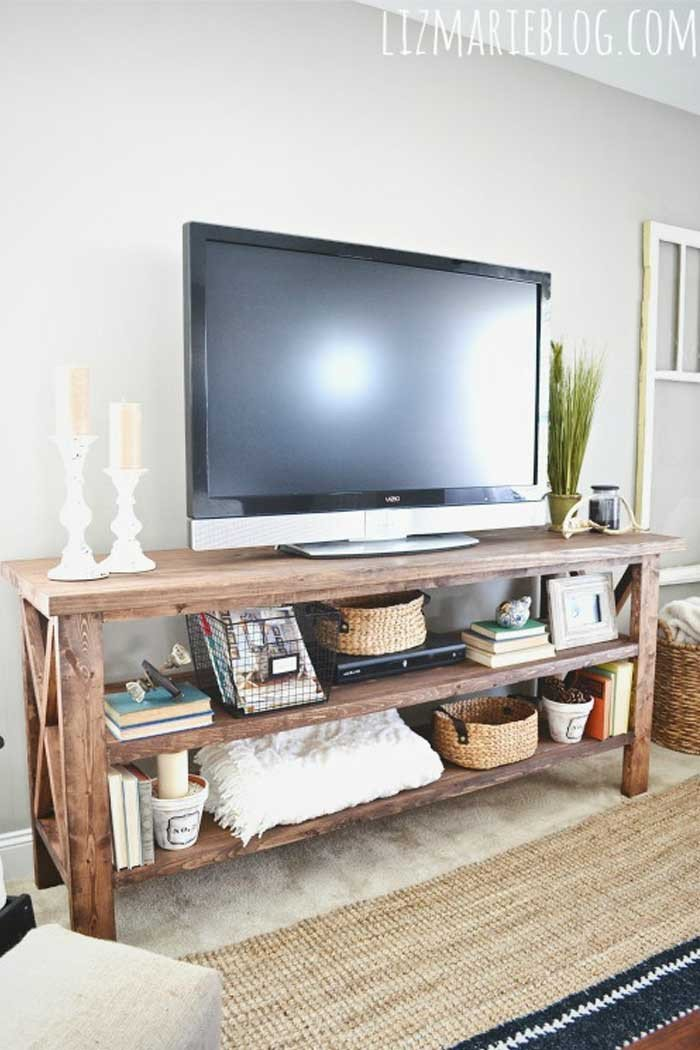 Living Room Ideas Tv Stand New 50 Creative Diy Tv Stand Ideas for Your Room Interior