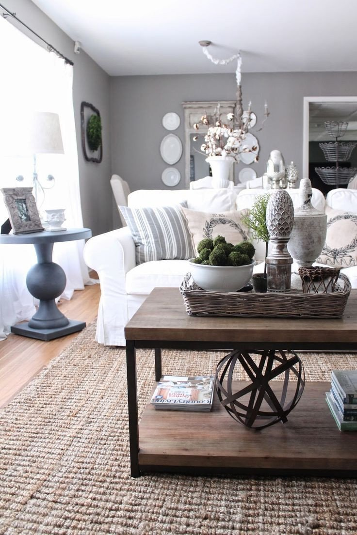 Living Room Side Table Decor Beautiful French Country Decor