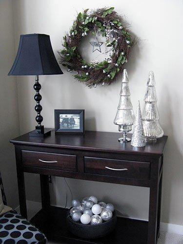 Living Room Side Table Decor New Christmas Decorating Ideas Pinterest Christmas Mantel