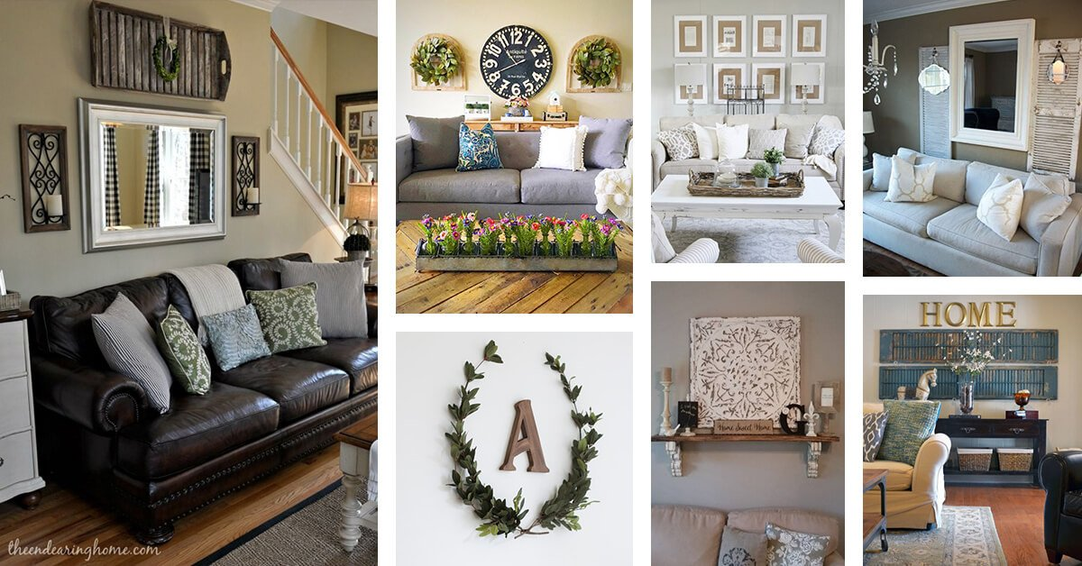 Living Room Wall Decor Ideas Luxury 33 Best Rustic Living Room Wall Decor Ideas and Designs