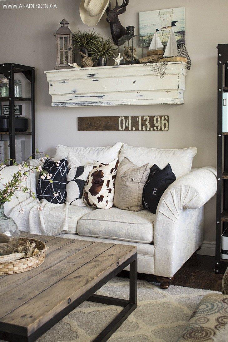 Living Room Wall Decor Ideas Unique 27 Rustic Farmhouse Living Room Decor Ideas for Your Home