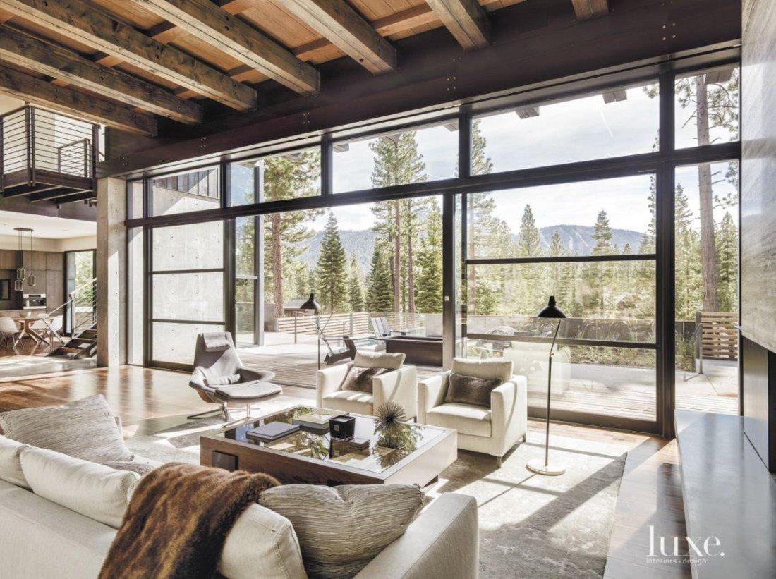 Modern Rustic Decor Living Room Awesome Modern Rustic Design Ideas &