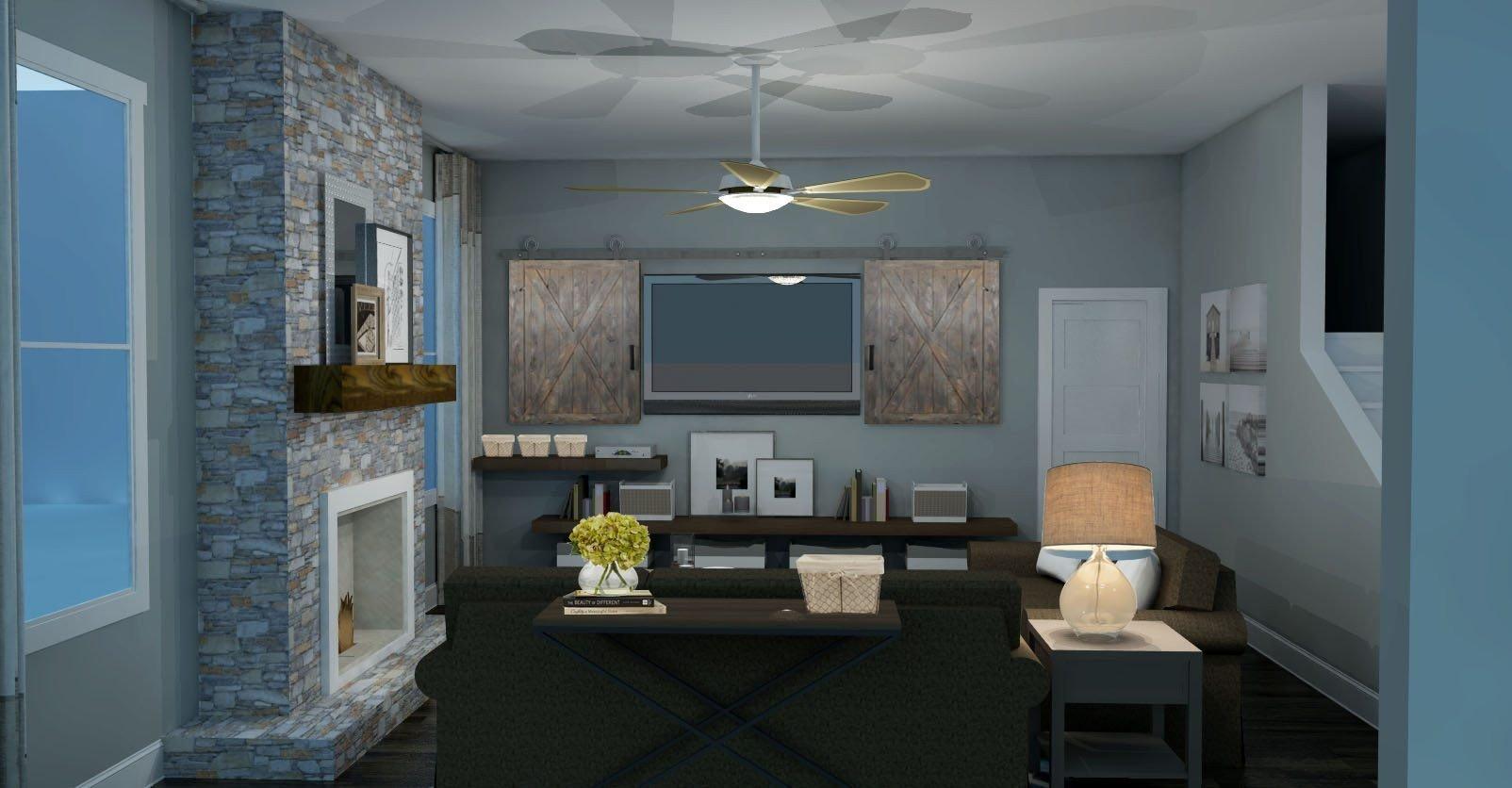 Modern Rustic Decor Living Room Awesome Modern Rustic Living Room Design