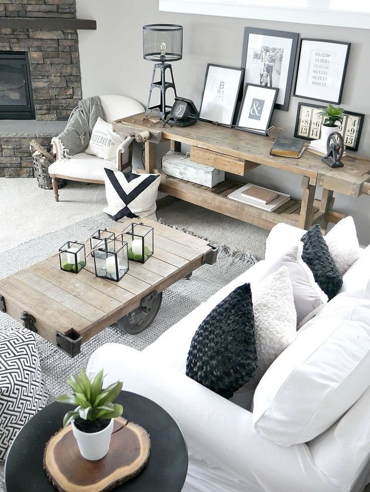 Modern Rustic Decor Living Room Unique Bringing the Outdoors In Easy Home Decor Ideas