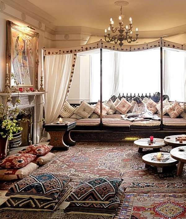 Moroccan Decor Ideas Living Room Awesome Moroccan Inspired Living Room Design Ideas
