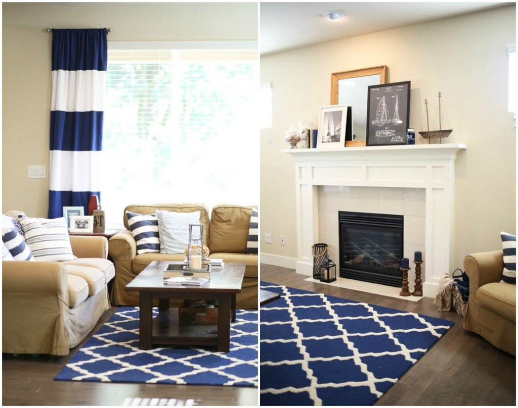 Nautical Decor Ideas Living Room Beautiful Updating Our Nautical Living Room Dress Cori Lynn