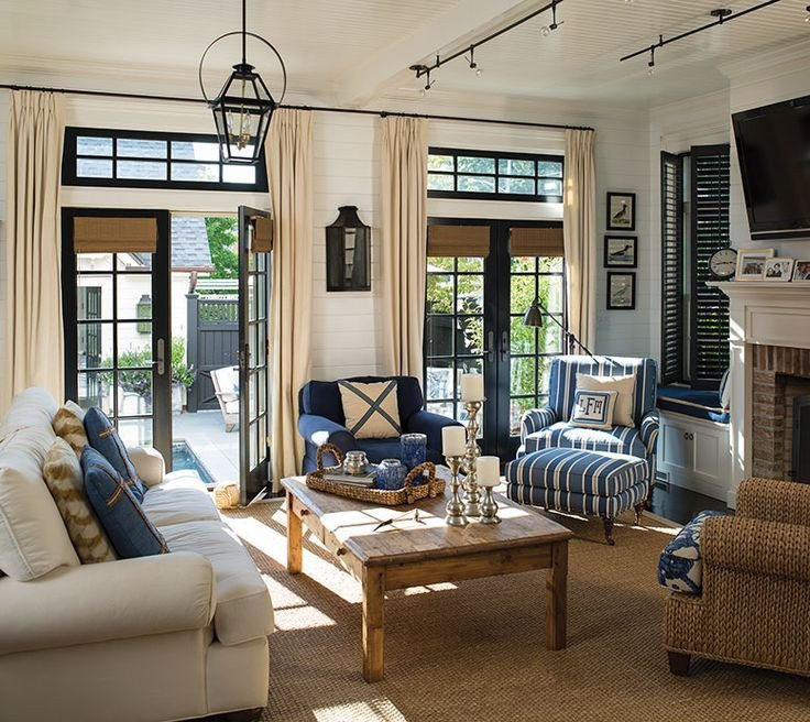 Nautical Decor Ideas Living Room Inspirational 1000 Ideas About Nautical Living Rooms On Pinterest