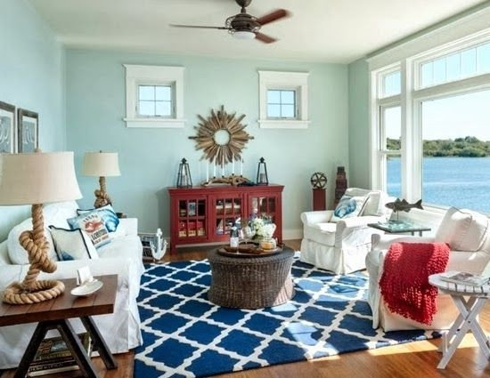 Nautical Decor Ideas Living Room Inspirational Coastal Decorating Tips
