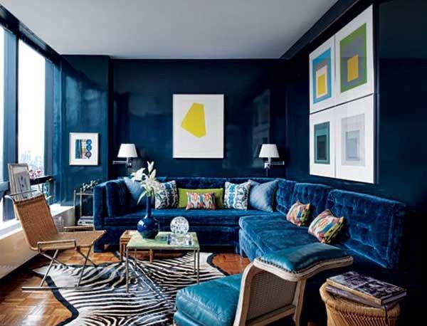 Navy Blue Living Room Decor Luxury Navy Blue