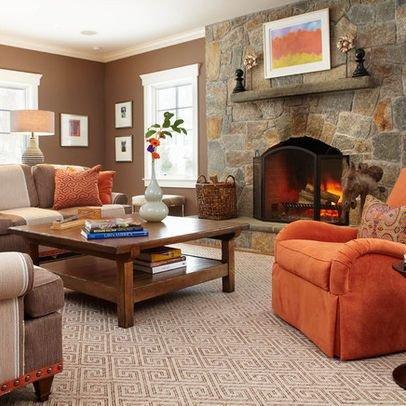 Orange Decor for Living Room Lovely 1000 Ideas About orange Living Rooms On Pinterest