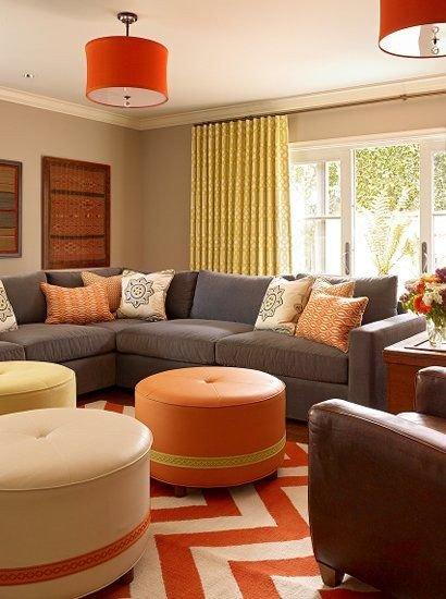 Orange Decor for Living Room New 25 Best Ideas About orange Living Rooms On Pinterest