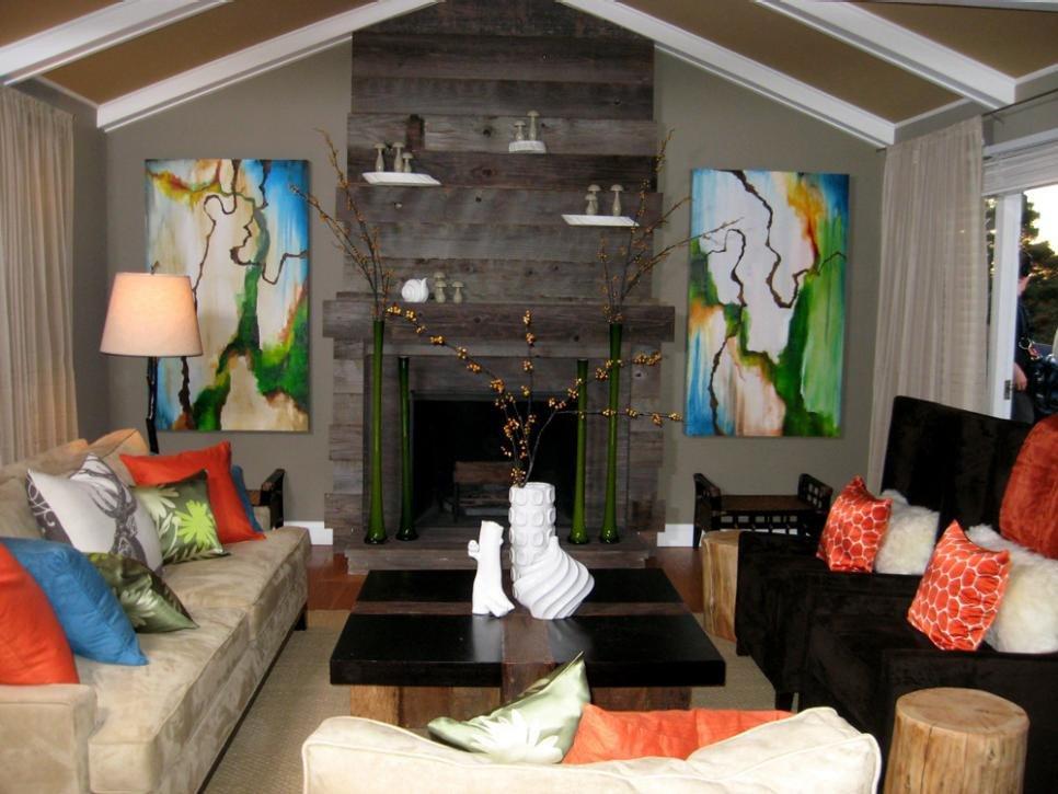 Orange Decor for Living Room Unique orange Home Decor and Decorating with orange