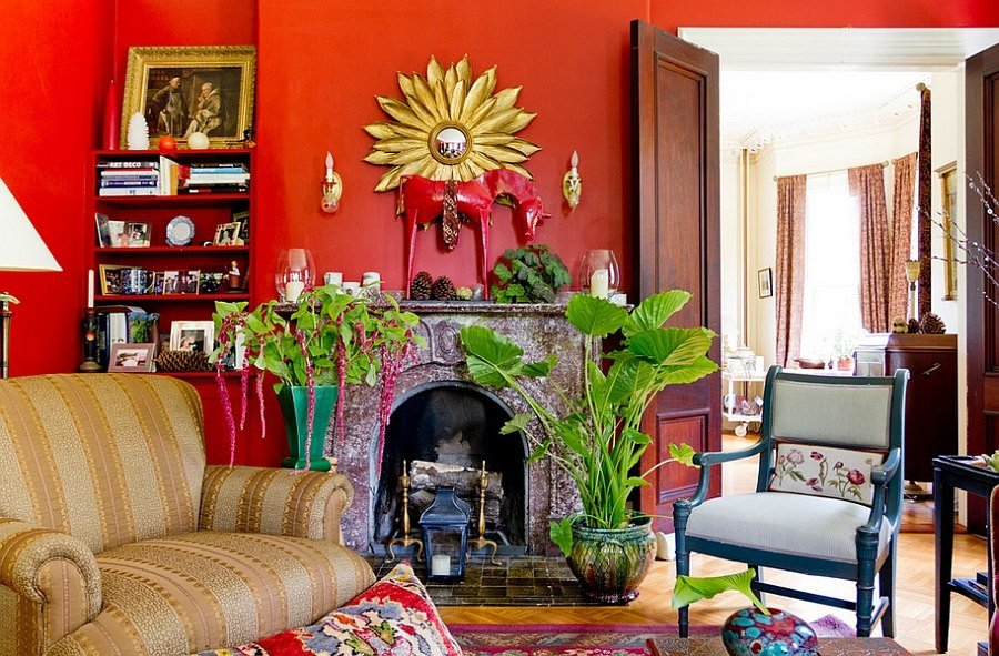 Pictures for Living Room Decor Inspirational Red Living Rooms Design Ideas Decorations S