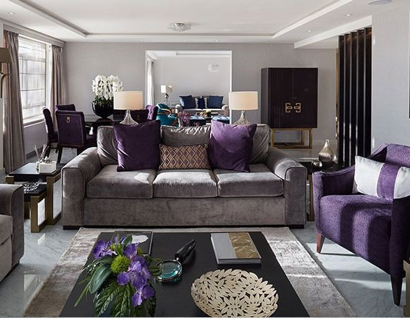 Purple Decor for Living Room Awesome Best 25 Purple Grey Bedrooms Ideas On Pinterest