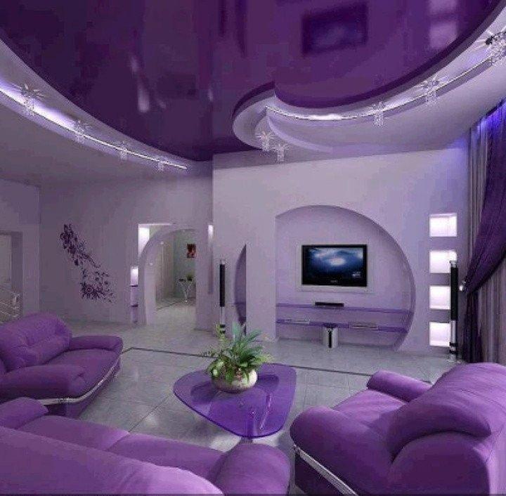 Purple Decor for Living Room Elegant Purple Living Room Home Suite Home Pinterest