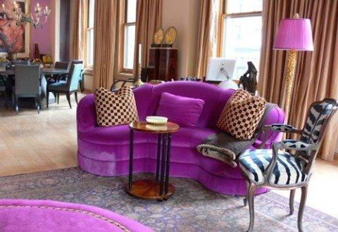 Purple Decor for Living Room Elegant Purple Room Decor Ideas Interior Design