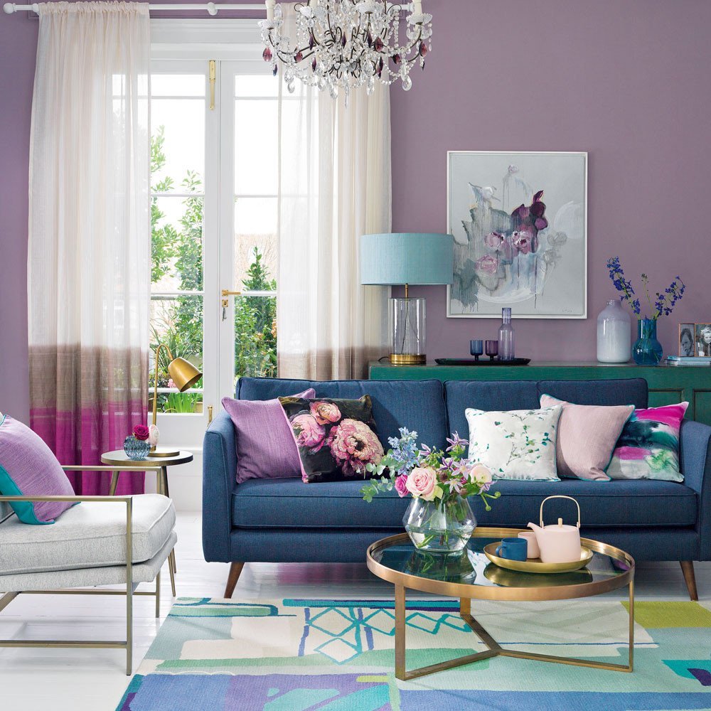 Purple Decor for Living Room Fresh Purple Living Room Ideas