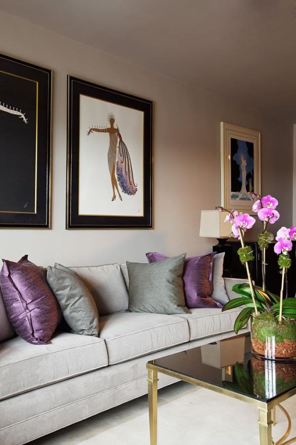 Purple Decor for Living Room Inspirational How to Use Purple In Stunning Looking Living Rooms
