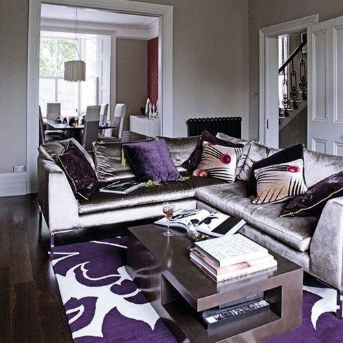 Purple Decor for Living Room Lovely Alfombras Para Living Con Pisos Oscuros