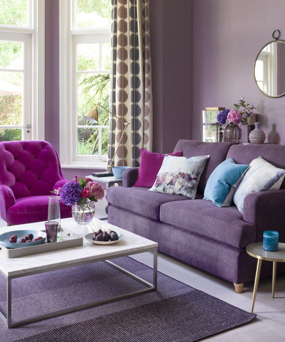 Purple Decor for Living Room Lovely Purple Living Room Ideas