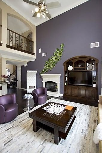 Purple Decor for Living Room New Living Room Purple Design Remodel Decor and