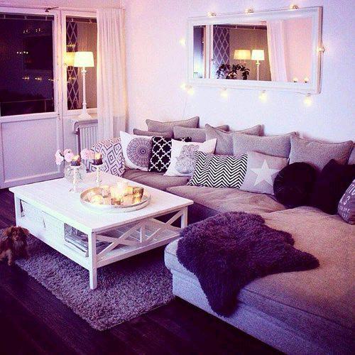 Purple Decor for Living Room New Purple Living Room Decorating Ideas