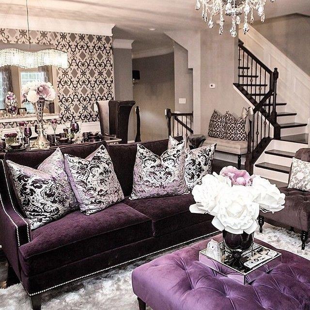 Purple Decor for Living Room Unique Best 25 Purple Living Rooms Ideas On Pinterest
