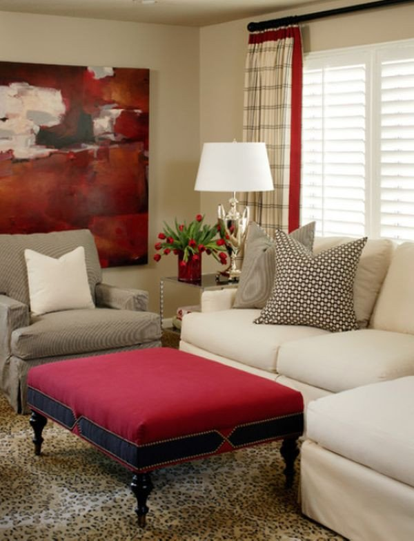 Red Decor for Living Room Awesome How to Work with Red to Create Vibrant and Elegant Decors