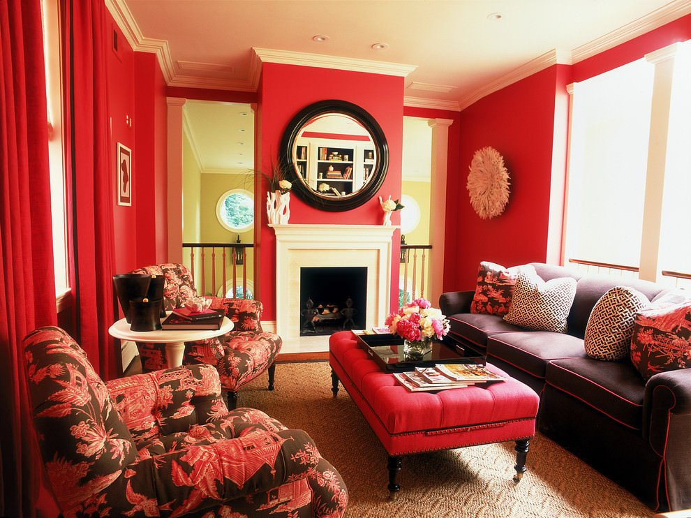 Red Decor for Living Room Inspirational 25 Red Living Room Designs Decorating Ideas