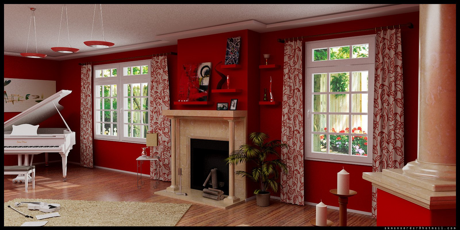 Red Decor for Living Room Luxury September 2012 Anne Wright Interiors