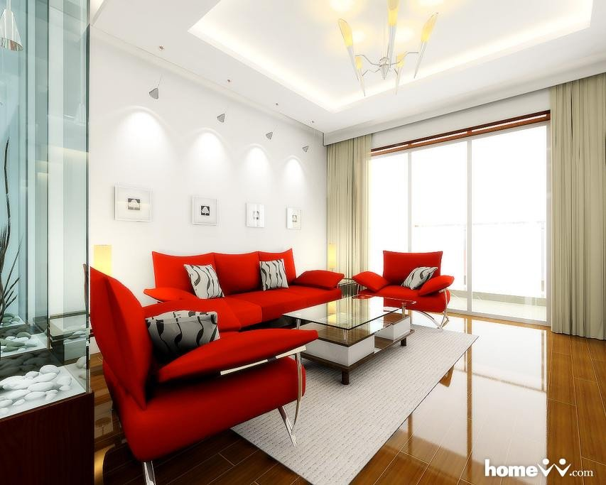Red Decor for Living Room Unique 28 Red and White Living Rooms
