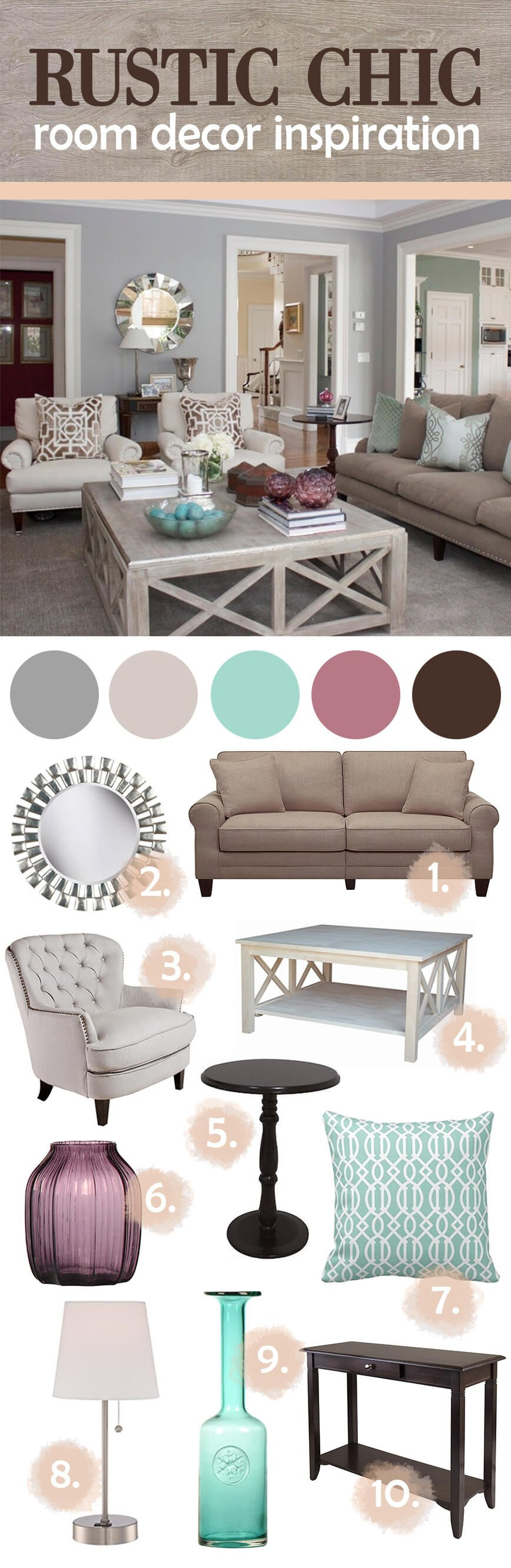 Rustic Chic Decor Living Room Beautiful 27 Best Rustic Chic Living Room Ideas and Designs for 2017