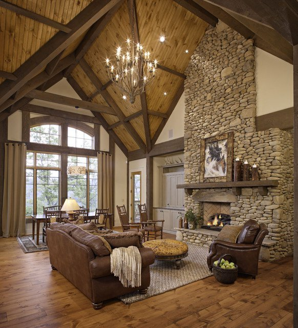 Rustic Chic Decor Living Room Best Of 18 Cozy Rustic Living Room Design Ideas Style Motivation