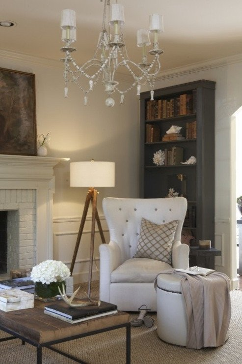 Rustic Chic Decor Living Room New Gray Bookcase Traditional Living Room Dana Wolter
