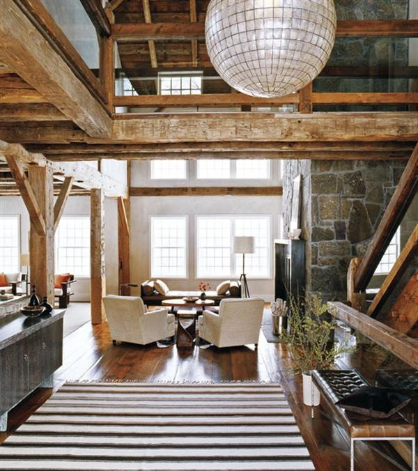Rustic Modern Decor Living Room Beautiful Module 2 – Rooms and John Saladino