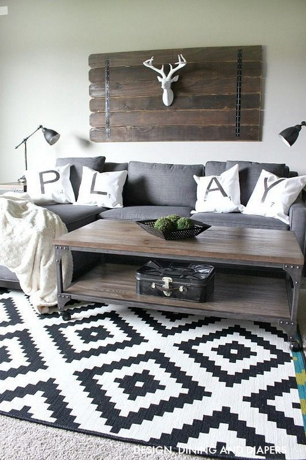 Rustic Modern Decor Living Room Inspirational 30 Pretty Rustic Living Room Ideas Noted List