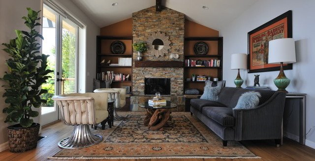 Rustic Modern Decor Living Room Lovely Modern Rustic Living Room Transitional Living Room