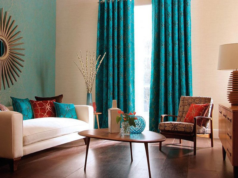 Teal Decor for Living Room Beautiful Cool Teal Home Decor for Spring and Summer