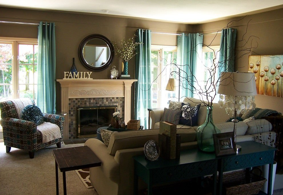 Teal Decor for Living Room Luxury 22 Teal Living Room Designs Decorating Ideas