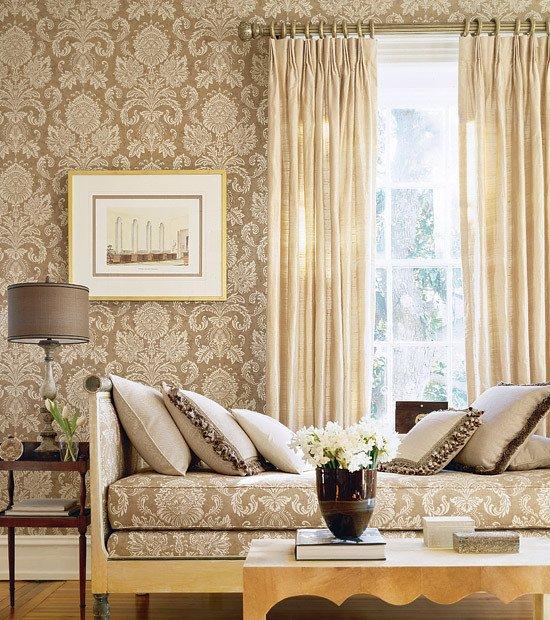 Wallpaper for Living Room Ideas Elegant Magnificent or Egregious February 2012