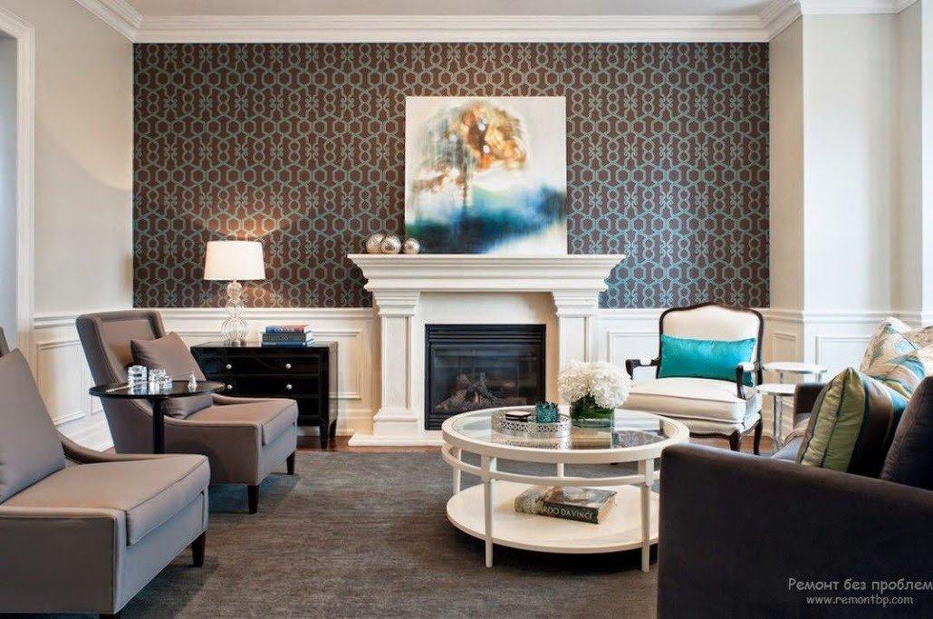 Wallpaper for Living Room Ideas New Trendy Living Room Wallpaper Ideas Colors Patterns and Types